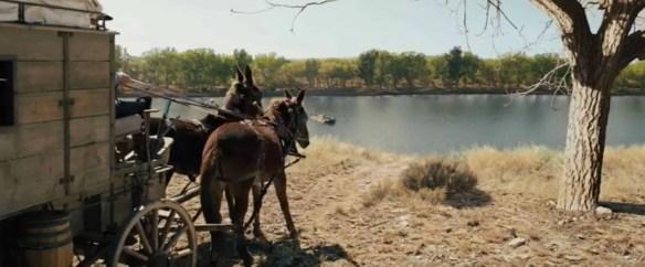 The Homesman river