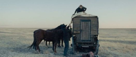 The Homesman winter scene