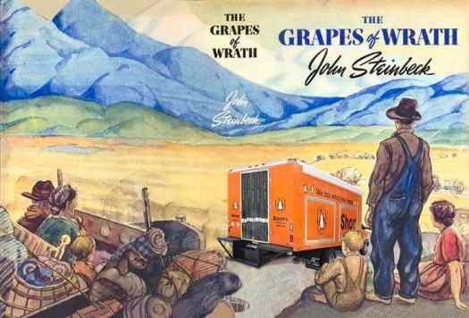 The Grapes Of Wrath by John Steinbeck, a well-known example of neo-regionalism.