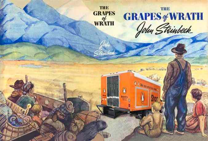 An analysis of the topic of the grapes of wrath by john steinbeck