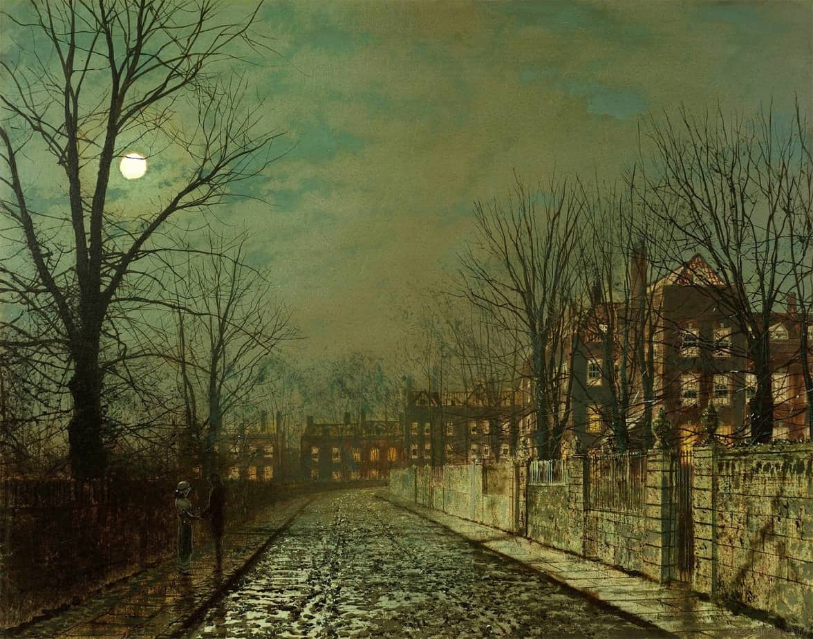 Atkinson Grimshaw - The Trysting Tree