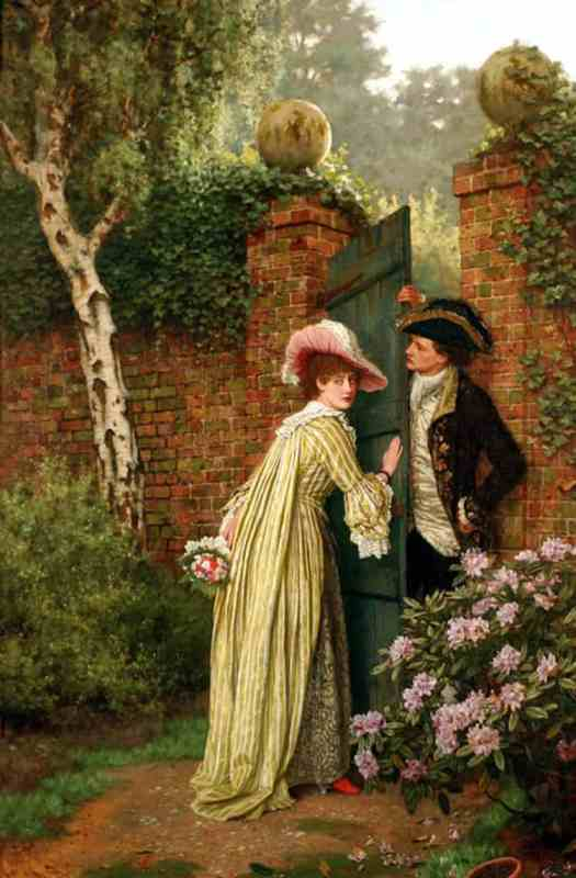 Charles Haigh Wood - The Tryst