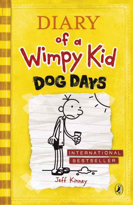 Diary Of A Wimpy Kid Dog Days cover
