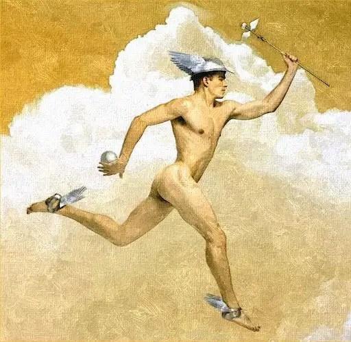 hermeneutics is from Hermes