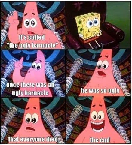 spongebob parody humour