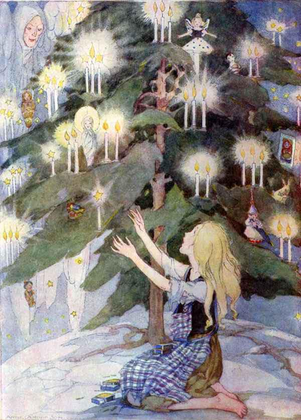 Anne Anderson, Scottish illustrator little match girl