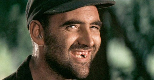 The Toothless Man from Deliverance is not treated as a character, despite being human.