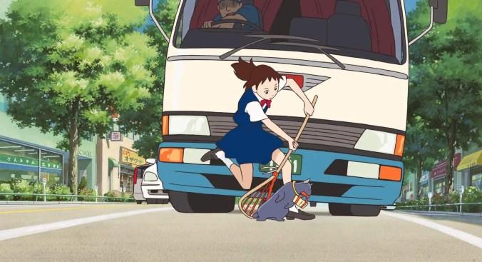 Haru rescues the cat
