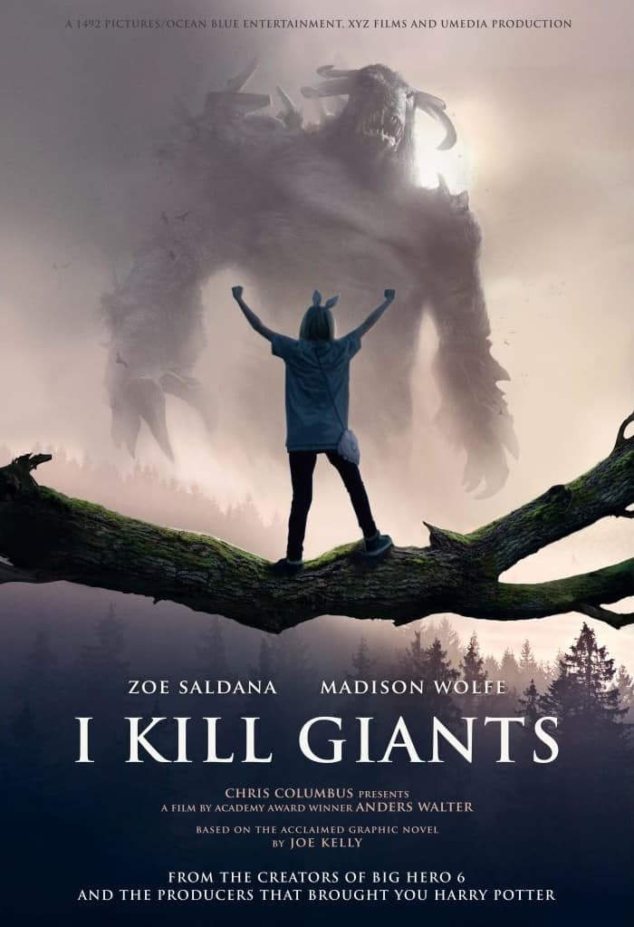 I Kill Giants movie poster