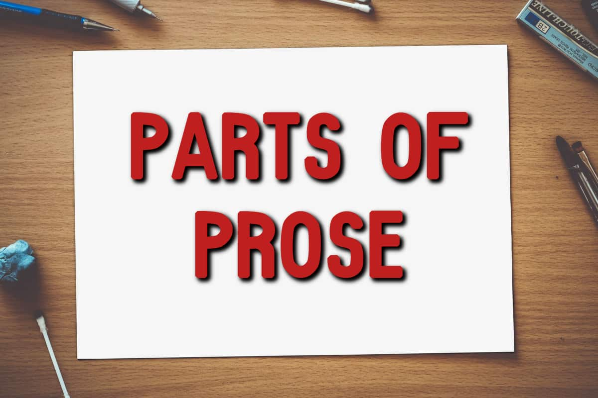 parts of prose