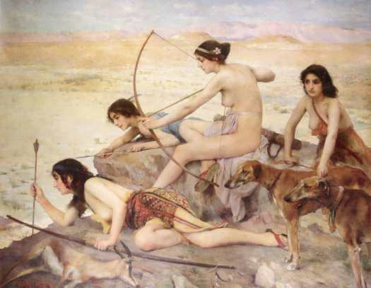 Paul Alexandre Alfred Leroy - The Daughters of Atlas 1896