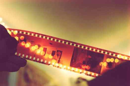 film reel negative