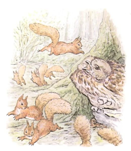 Squirrel Nutkin battle