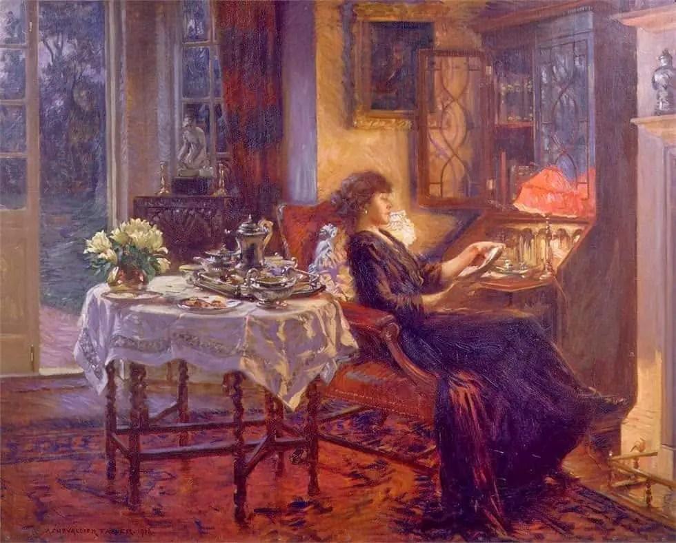 Albert Chevallier Tayler - The Quiet Hour