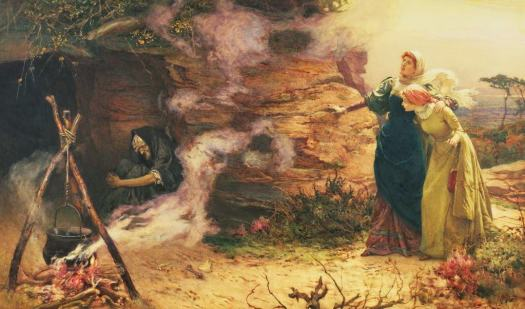 Edward Frederick Brewtnall - Visit to the Witch 1882