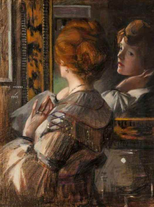 George Henry - The Tortoiseshell Mirror 1903