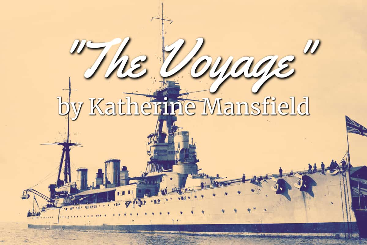 the voyage katherine mansfield