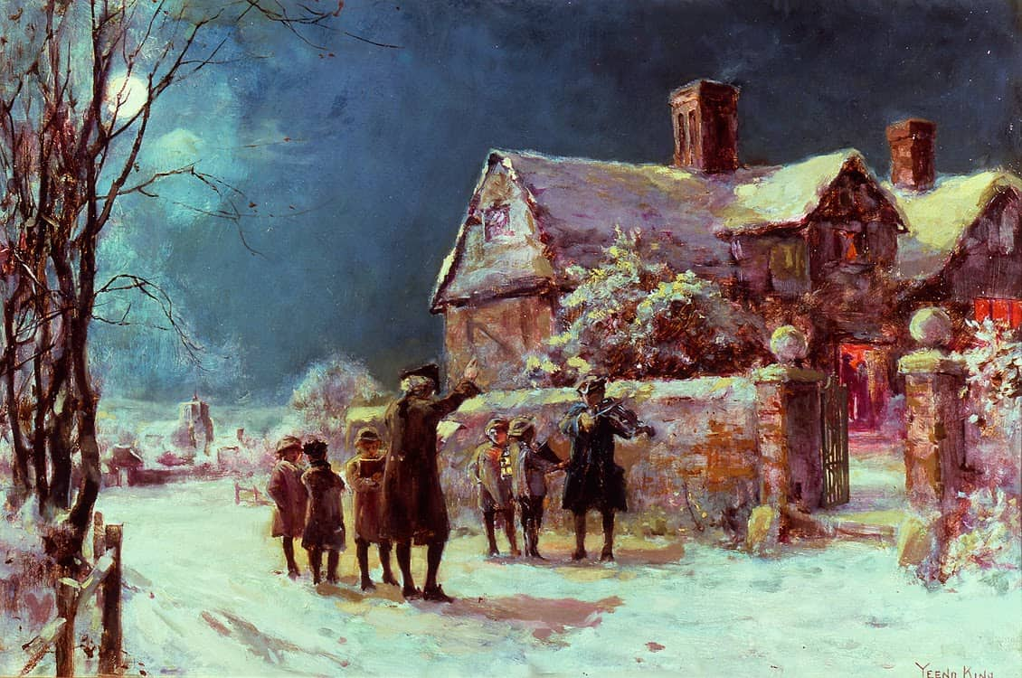 Henry John Yeend King - Twas the Night Before Christmas