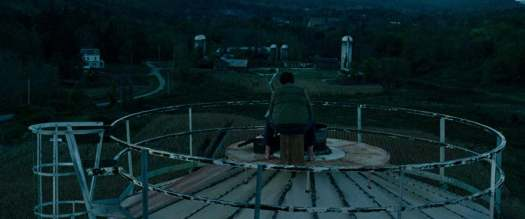on top of the silo in A Quiet Place