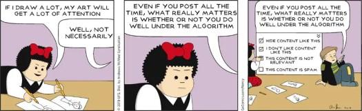 Nancy cartoon humour