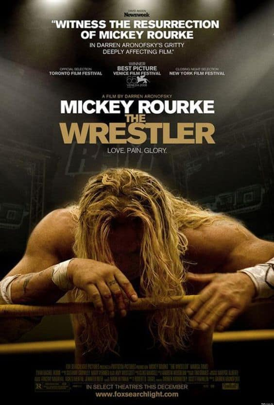 The Wrestler film poster