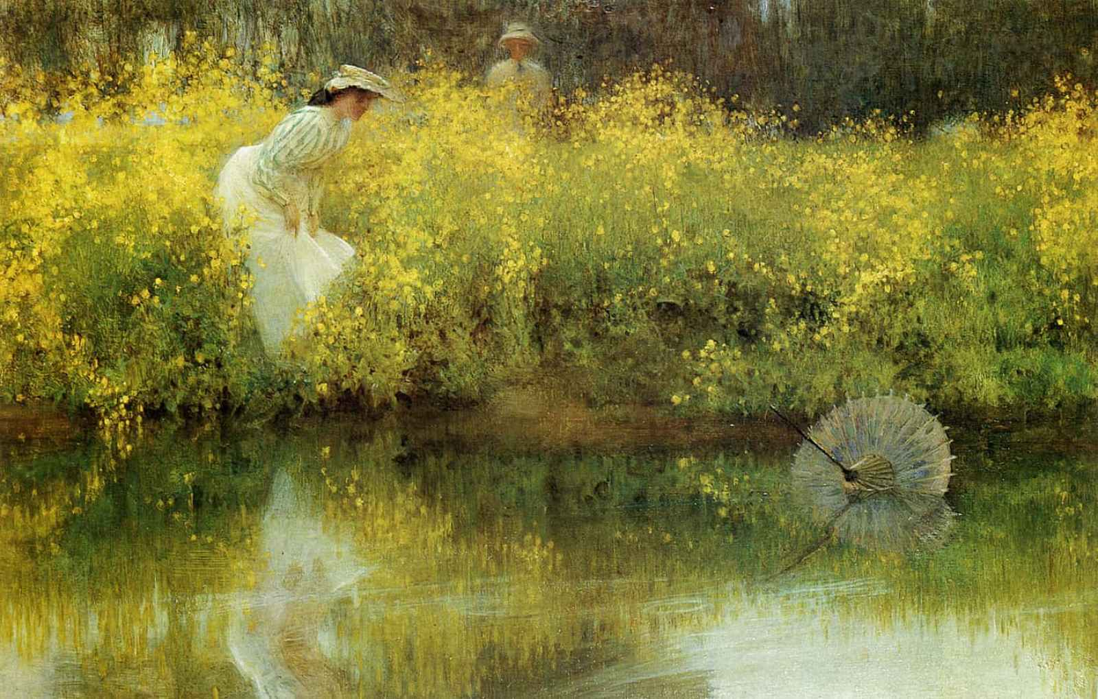 Arthur Hacker - In Jeopardy 1902