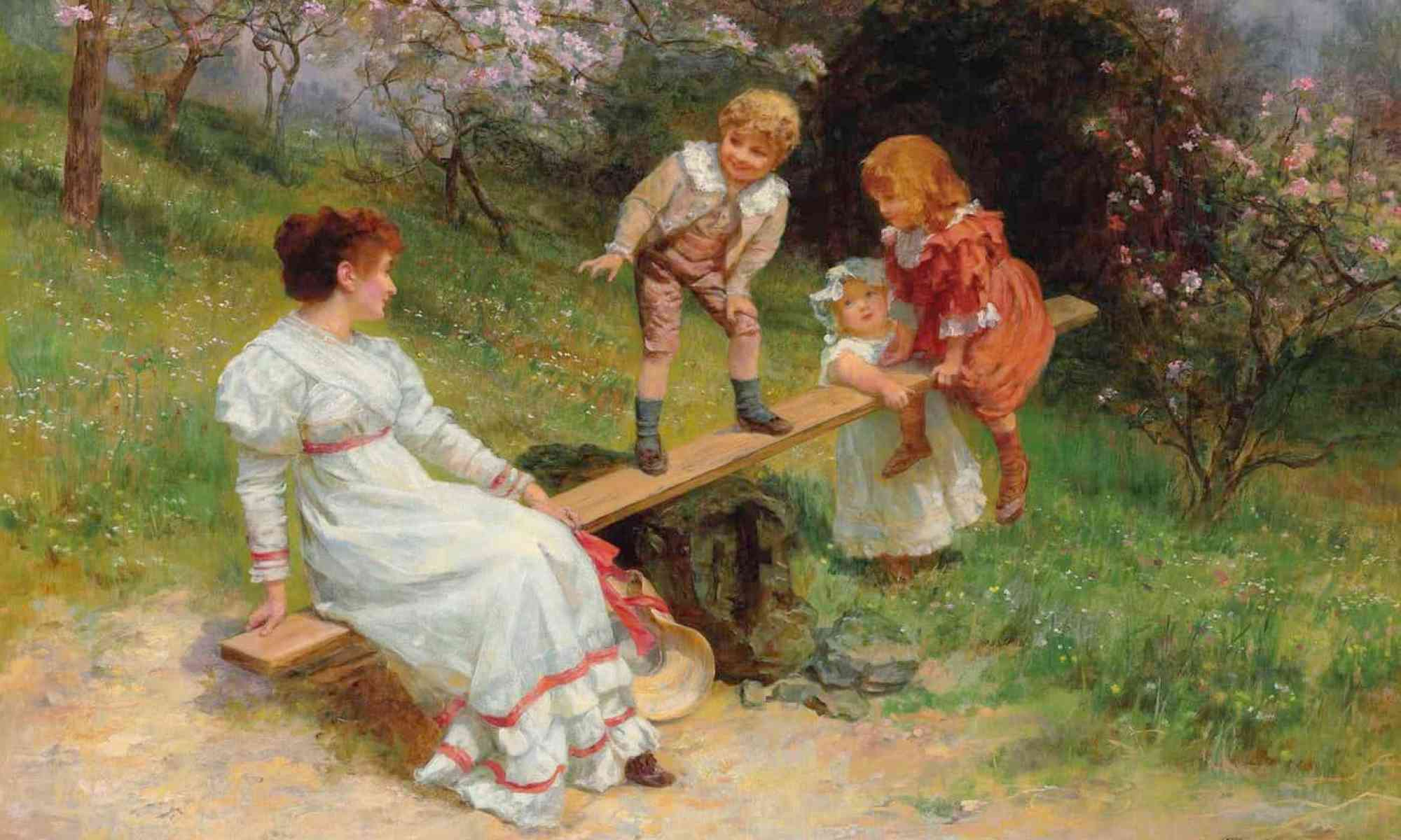 See Saw by Frederick Morgan