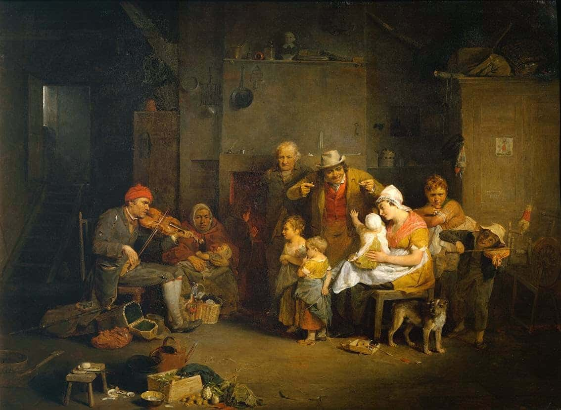 The Blind Fiddler 1806 Sir David Wilkie 1785-1841 Presented by Sir George Beaumont Bt 1826