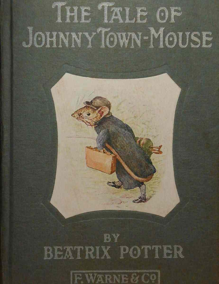 The Tale of Johnny Town-mouse cover