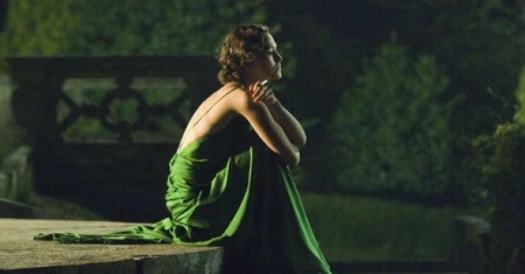 keira knightly green dress atonement