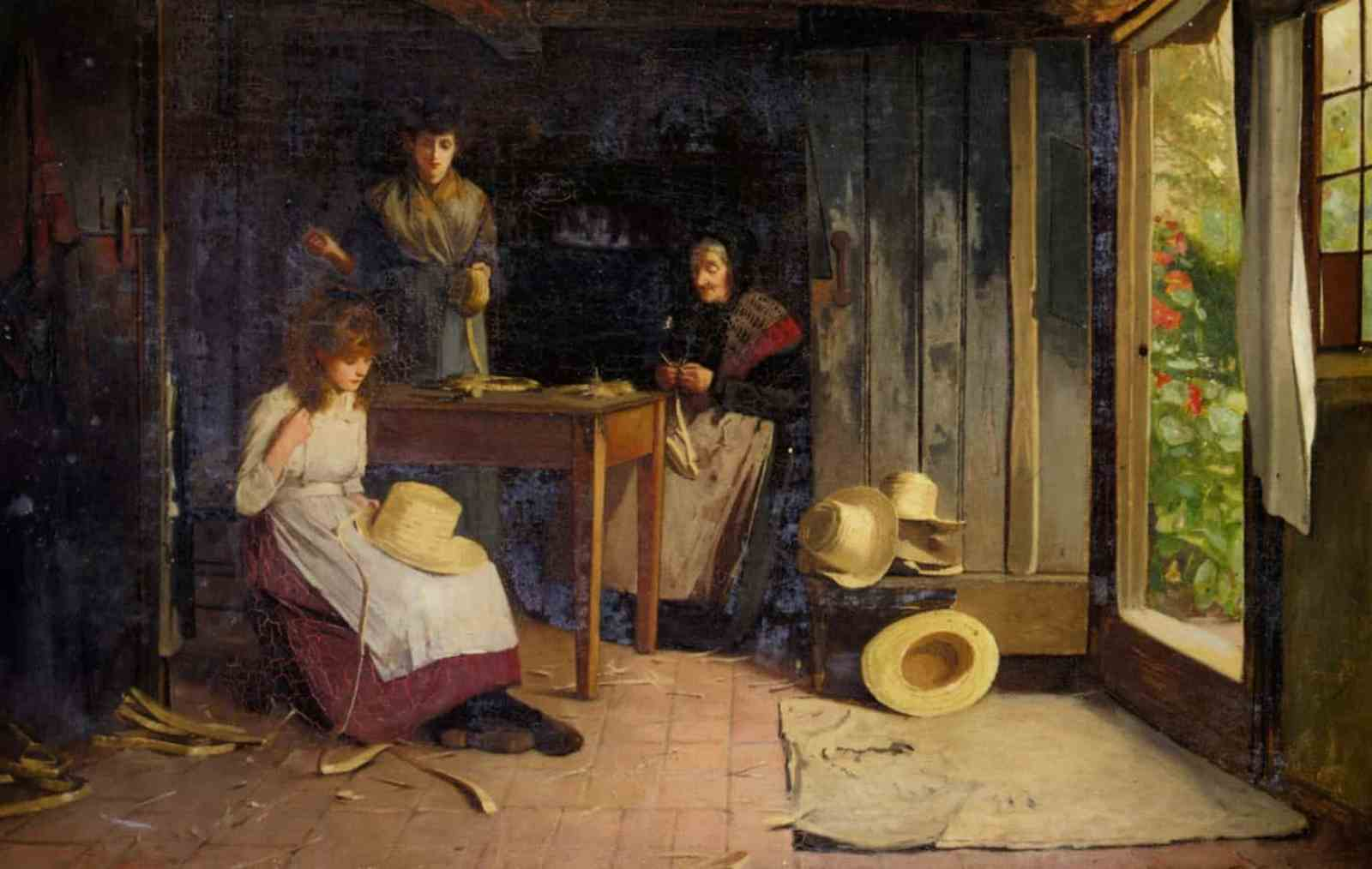 Carlton Alfred Smith - The Hat Makers 1891