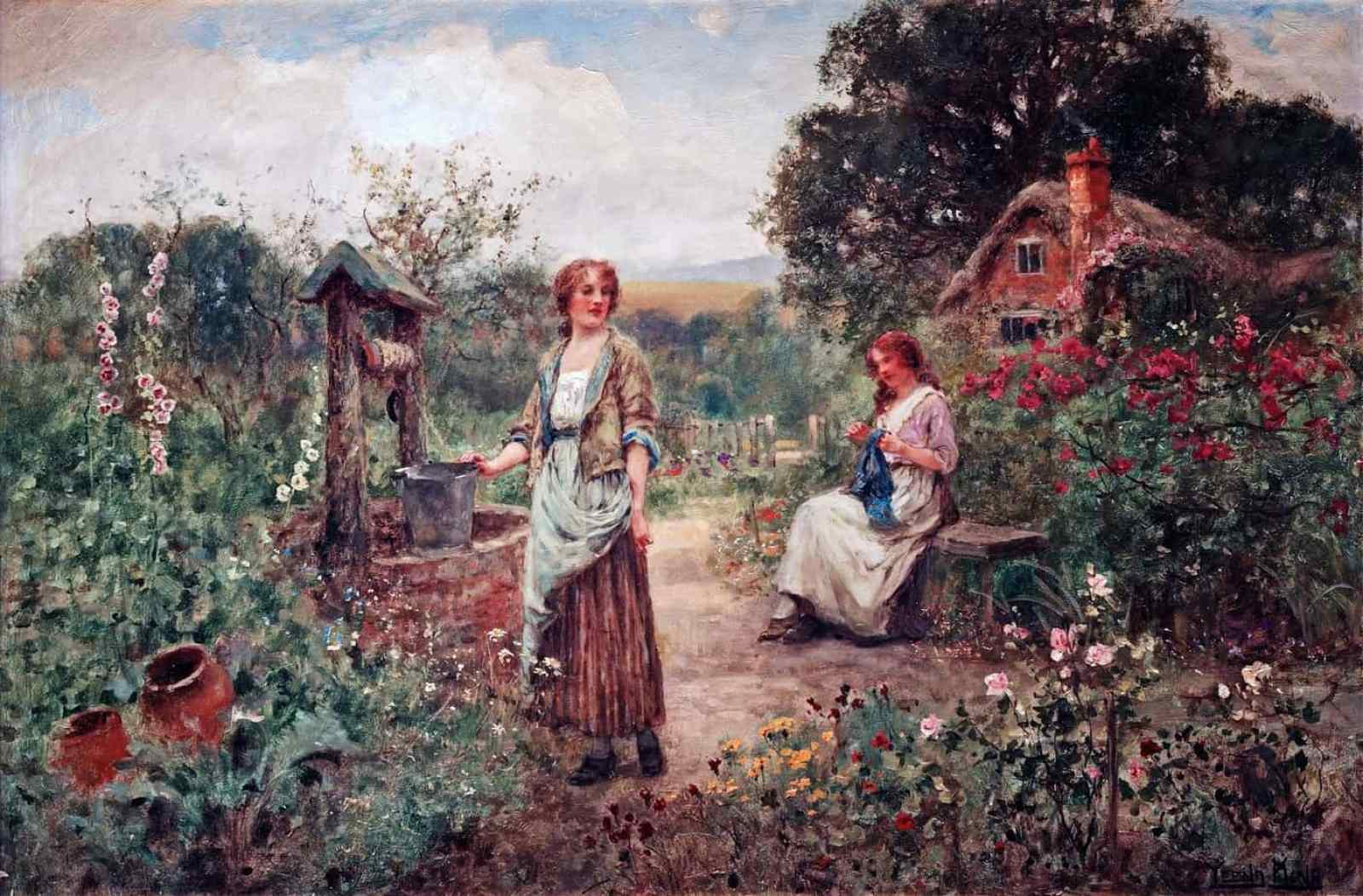 Henry John Yeend King - By the Well