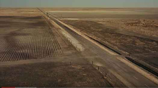 The crossroads shot from North By Northwest