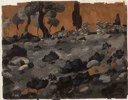 Joan González Landscape Known As 'The Iron Gate' 1904