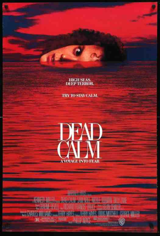 Dead Calm red movie poster