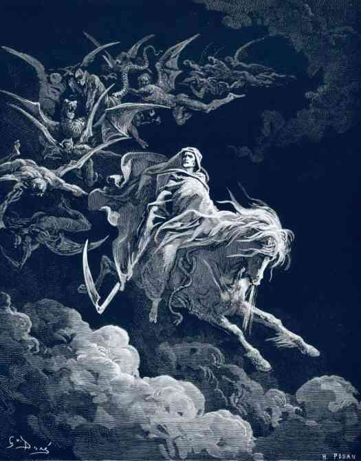 Death on a Pale Horse, Gustave Dore, 1865