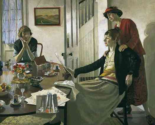 Harold C. Harvey (1874 - 1941) The Critics, 1922