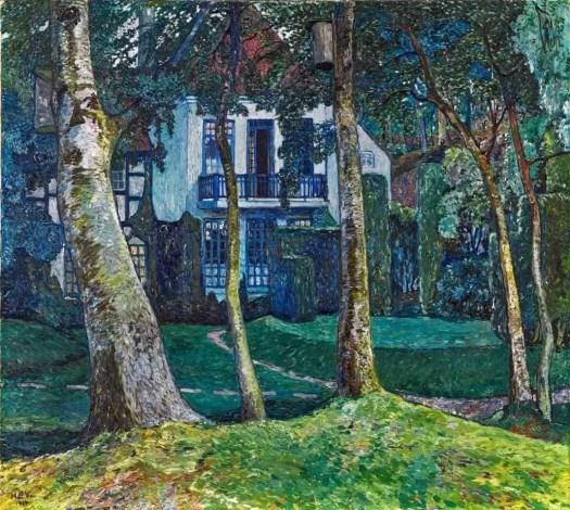 Heinrich Vogeler (1872 - 1942) The Blue Hour, 1914