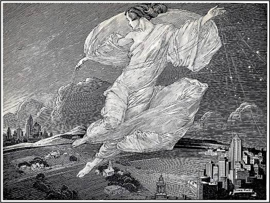 Franklin Booth (1874-1948) wind