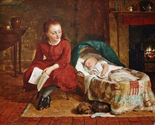 Richard Hollingdale - A Bedtime Story 1878