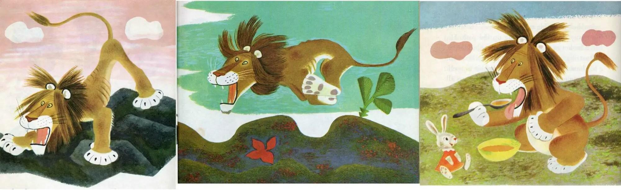 Tenggren, Gustav, Tawny Scrawny Lion by Kathryn Jackson, 1952