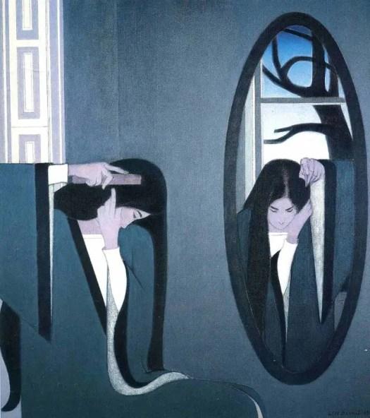 The Mirror. Will Barnet, 1981