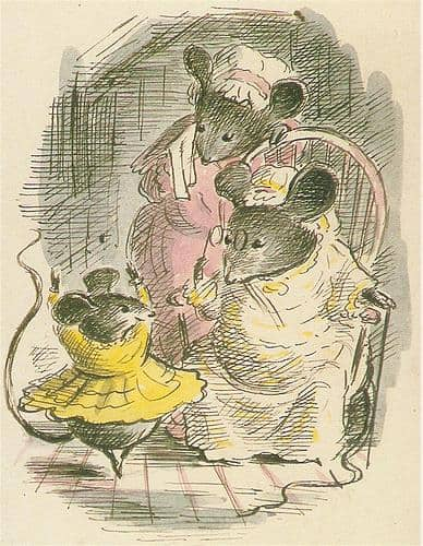 'Desbarollda,the Waltzing Mouse,'1947 by Noel Langley Illustrations by Edward Ardizzone