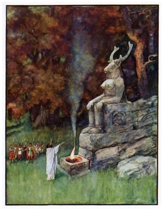 Early-twentieth century illustration by Artuš Scheiner (1863 – 1938)
