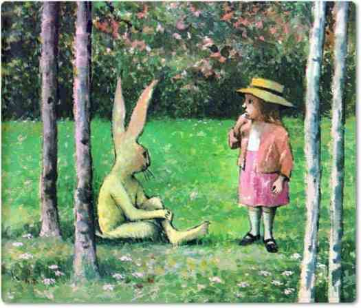 Mr. Rabbit and the Lovely Present by Charlotte Zolotow pictures by Maurice Sendak, 1962 2