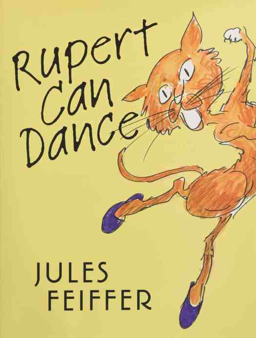 rupert can dance by jules feiffer cover