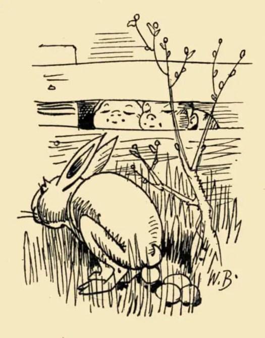 Busch, Wilhelm, Herach, 1908 Happy Easter