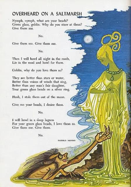 From the Childcraft Book series Overheard On A Salt Marsh