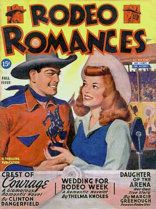 Rodeo Romances fall issue 1945
