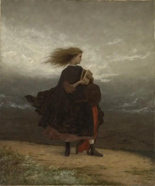The Girl I Left Behind Me c 1872 Eastmen Johnson